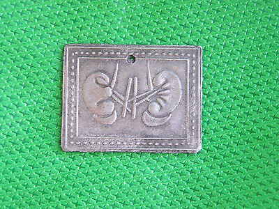 Tin/Silver Kidneys Milagro Ex Voto