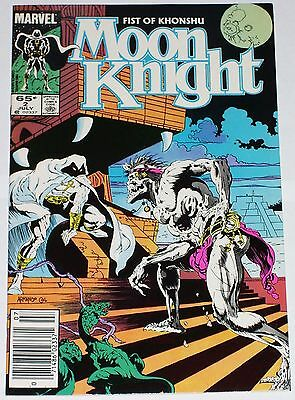 Moon Knight #2 from July 1985 VF to VF/NM Fist of Khonshu