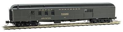 Micro-Trains MTL N-Scale Heavyweight Mail-Baggage RPO Car Great Northern/GN #77