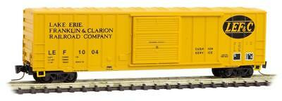Micro-Trains MTL Z-Scale 50ft Box Car Per Diem #8 Lake Erie, Franklin & Clarion