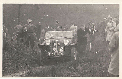 TRAILS CAR No.8 REG No.LXT 879, PHOTOGRAPH.