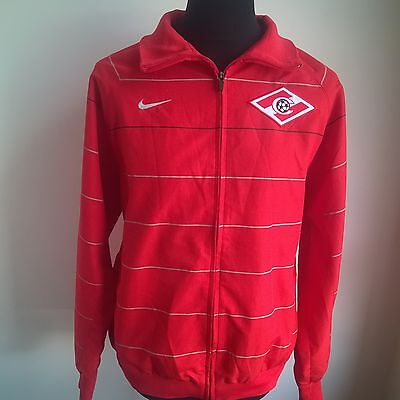 Sapartak Moscow Track Top Football Shirt Nike Jersey Size Adult L