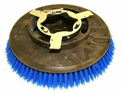 "Windsor 8.600-018.0 Crimped Poly 12"" Scrub Brush for Chariot iScrub Saber Glide"
