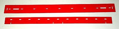 Tennant 2 Blade Squeegee Set 606758 For Model Scrubbers 54000 5500 SS 2401 2601