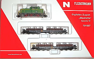 Train Set Max Cabin Digital Locomotive M 2 Car Fleischmann <phr_pair_annot>