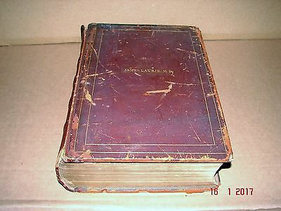 Rare 1846 Harpers Bros. The Illuminated Bible, Rev. James Laurie, Washington, DC