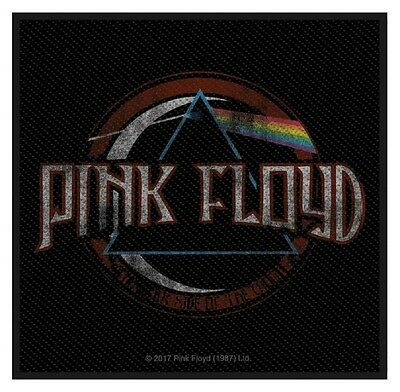 PINK FLOYD - Patch Aufnäher - Distressed Dark side of the moon 10x10cm