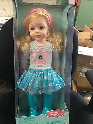 Twinkling Turquoise  18'' Madame Alexander Doll, Light  Skin Tone NRFB