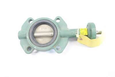 New Crane Center Line Series 200 3In Iron Wafer Butterfly Valve D560796