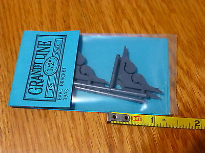 Grandt Line #3943 Eave Bracket pkg(4)  (1:24th Scale)
