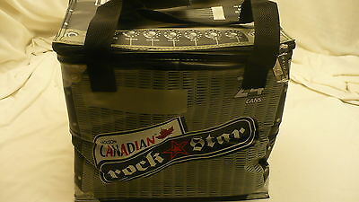 Molson Canadian ROCK STAR insulated beer cooler radio  24 can lunch bag style