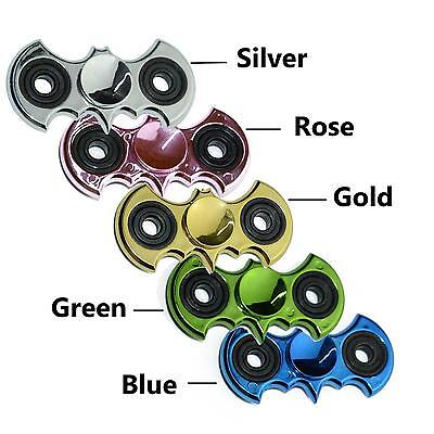 2017 Fidget Hand Spinner Finger Focus Autism EDC Metallic Plating Stress Toys US