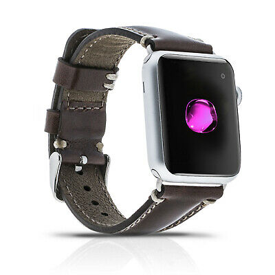 Apple Watch Lederarmband Uhrenarmband Erstatzband Uhrenband Armband 42mm Adapter