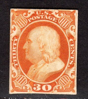 $US Sc#46p4 F-VF, Plate Proof on card, Cv. $60