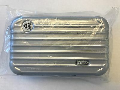 Thai Airways First Class Rimowa Amenity Kit New Sealed Silver Color