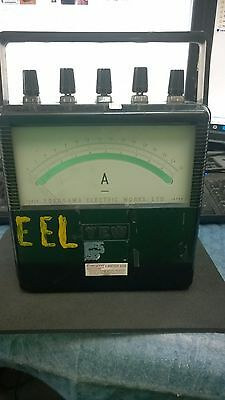 Untested Vintage  Yokogawa Electric Works 1973 Electric Meter..as-Is. R6-1
