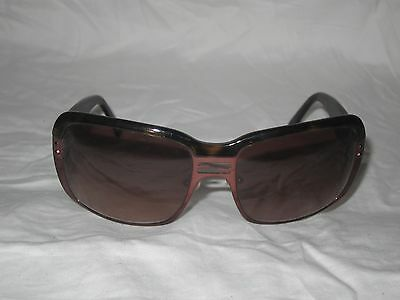 bb40d0b920c1 Fendi Sunglasses FS464 Brown Pink oversized Authentic with case made in  ITALY