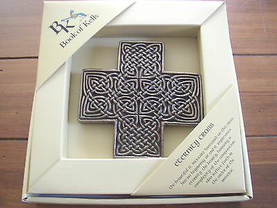 Book of Kells Eternity Cross Statuette, Boxed, product of Wild Goose Studio