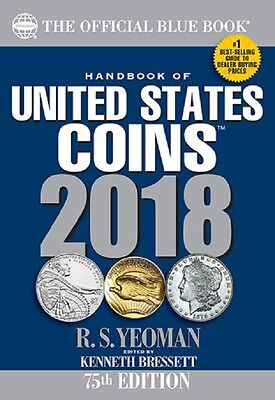2018 Blue Book, Handbook Of U.s. Coins