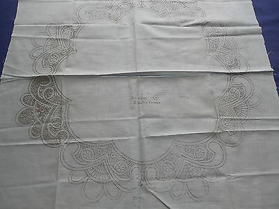 Vintage Stamped Centerpiece for Embroidery & Cutwork