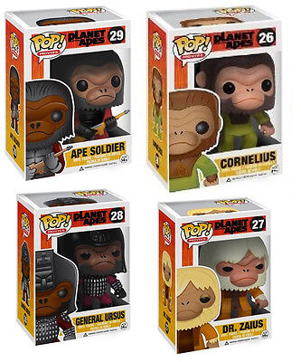 Funko POP Vinyl Planet of the Apes - Limited - Only Set Ebay Worldwide (Sealed)