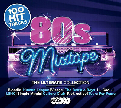 Various Artists : 80s Mixtape: The Ultimate Collection CD Box Set 5 discs