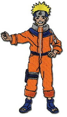 """Naruto Standing Figure Embroidered  4"""" High Patch NEW UNUSED"""