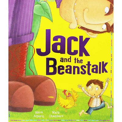 Jack And The Beanstalk by Mara Alperin (Paperback), Children's Books, Brand New