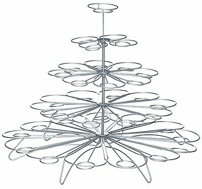 Kitchen Craft 5 Tier Wire 36 Cup Cake Cupcake or Muffin Wire Tree Display Stand