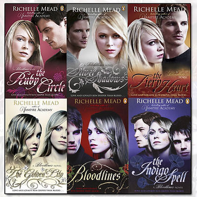 Bloodlines Series Collection By Richelle Mead 6 Books Set Paperback Pack NEW CA
