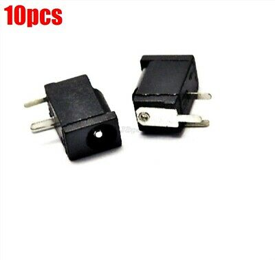 10Pcs Power Supply Jack Socket DC-002 1.1X3.5MM Dc New Ic ru