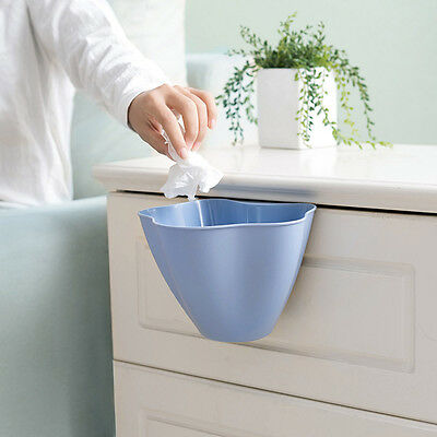 2017 Kitchen Cabinet Door Hanging Trash Garbage Bin Can Rubbish Container Box AU