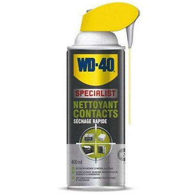 Bombe / Spray WD-40 NETTOYANT CONTACT SPECIAL MOTO 400 ML