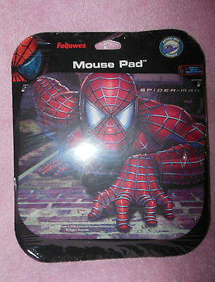 Fellowes Optical Mouse Friendly 'spiderman' Mouse Pad Nip 2002