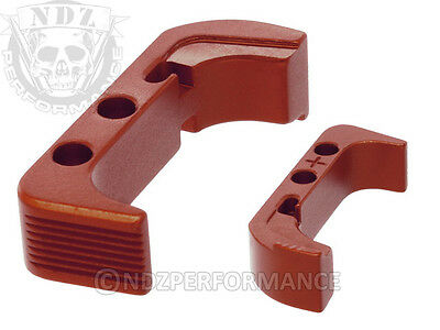 for Glock GEN 4 5 Mag Release Plus Red Pick Lasered Image Available