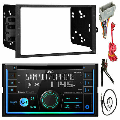 Kenwood DPX303MBT 2-Din Car Receiver Package With Install Kit For GM Vehicles