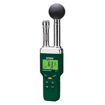 EXTECH HT200 Heat Stress Monitor,32 to 122 Degrees F G4336020