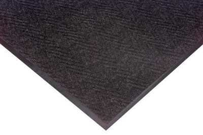 NOTRAX 105C0036CH60 Carpeted Runner,Charcoal,3ft. x 60ft. G0453400