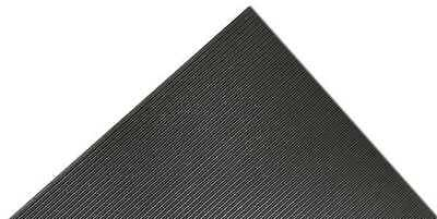 NOTRAX 830C0048BL75 Switchboard Mat,Black,4ft. x 75ft. G0472249