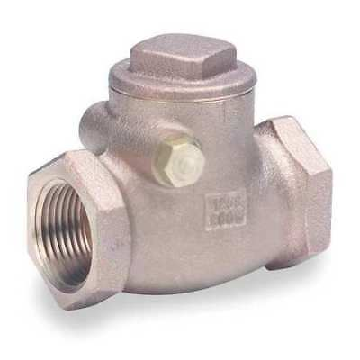 "3/4"" FNPT Bronze Swing Check Valve MILWAUKEE VALVE 509 3/4"
