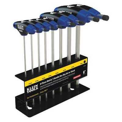 KLEIN TOOLS JTH68M 8 pc Journeyman T-Handle Set with Stand G0589447