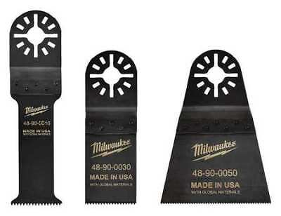 MILWAUKEE 48-90-1050 Oscillating Blade Kit,1-1/4 in, 2-1/2 in G0698419