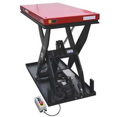 DAYTON 35KT67 Scissor Lift Table,1500 lb.,48inLx24inW G2204146
