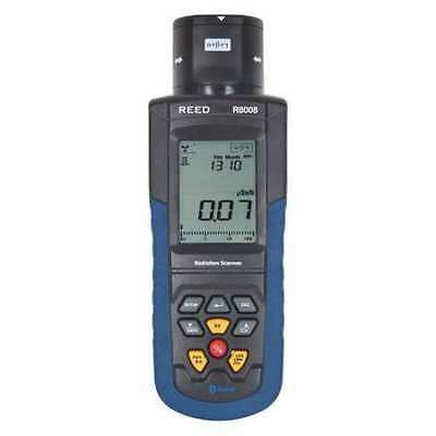 REED INSTRUMENTS R8008 Radiation Meter,LCD,1 Year Warranty G2268747