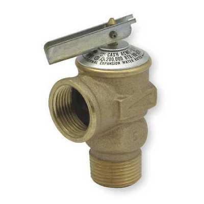 Safety Relief Valve,3/4In,150 psi,Bronze CASH ACME FWL-2