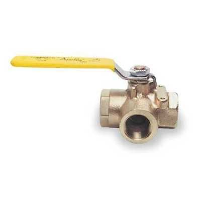 "Apollo Bronze Ball Valve 3-Way 1/2"", 7060301"