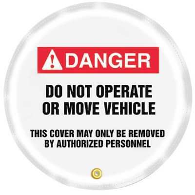 "ACCUFORM SIGNS KDD714 Danger Sign, 16 x 16"", Red and Black/White, Vinyl"