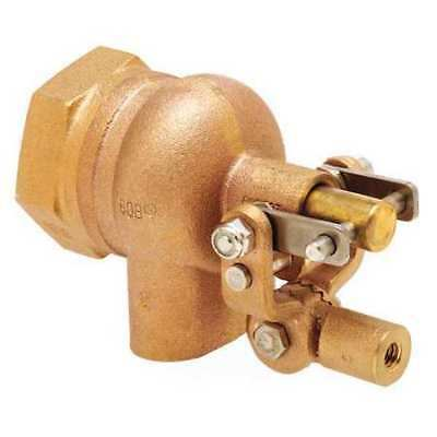 BOB R605T-2 Float Valve,2 in.,Pipe,Brass,FNPT G3780038
