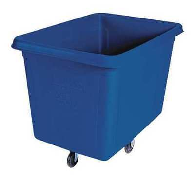 Cube Truck,3/8 cu. yd.,300 lb. Cap,Blue RUBBERMAID FG460800DBLUE