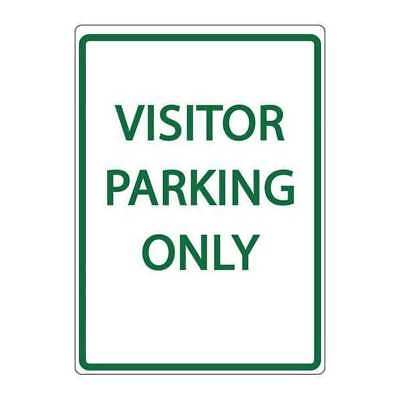 Parking Sign,Visitor Parking Only ZING 3076